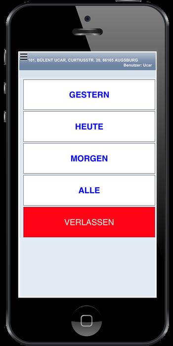 Webbasierte App